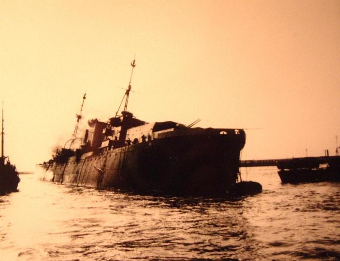 WW2Memoir - Foyle Bank - sunk1.JPG